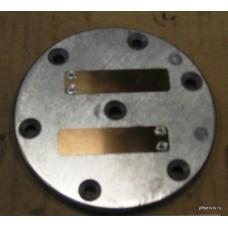 Пластина с 2-я клапанами поршня компр.К2