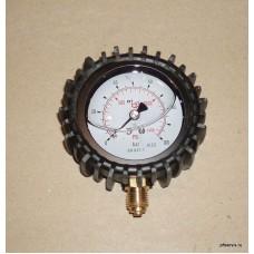 Манометр 0-100 бар, 1/4 дюйма, D = 6 мм